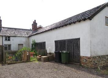 Thumbnail 3 bed cottage for sale in Cottage With Adj Barn Behind, Shropham Road, Great Hockham, Norfolk