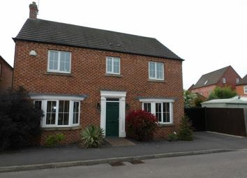 Thumbnail 4 bed detached house for sale in Murphy Drive, Bagworth, Coalville, Leicestershire