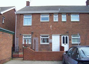 Thumbnail 2 bed terraced house to rent in Debdon Road, Ashington