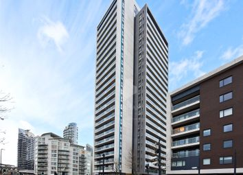 Thumbnail 3 bed flat for sale in Horizons Tower, Yabsley Street, London