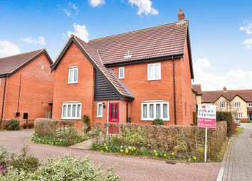 Thumbnail 4 bed detached house for sale in Fern Close, Dereham