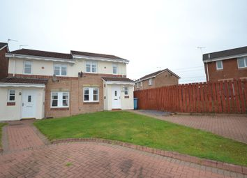 Thumbnail 3 bed semi-detached house for sale in Wellesley Place, Cumbernauld