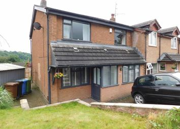 Thumbnail 3 bed end terrace house for sale in Ricroft Road, Compstall, Stockport