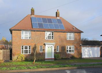 Thumbnail 4 bed detached house to rent in West Road, Barton Stacey, Winchester