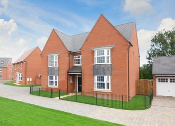 "Thumbnail 5 bed detached house for sale in ""Evesham"" at Shrewsbury Court, Upwoods Road, Doveridge, Ashbourne"