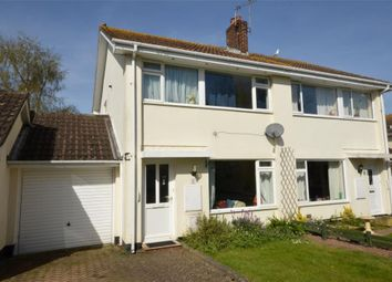 Thumbnail 3 bed semi-detached house for sale in Swan Road, Starcross, Exeter, Devon