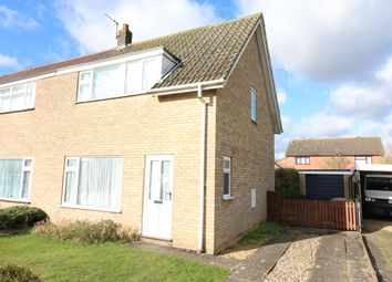 Thumbnail 3 bed semi-detached house for sale in Stigands Gate, Dereham
