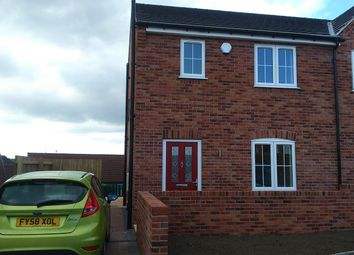 Thumbnail 3 bed semi-detached house to rent in Dunsil Close, Chesterfield