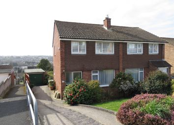 Thumbnail 3 bed semi-detached house for sale in Elford Crescent, Plympton, Plymouth