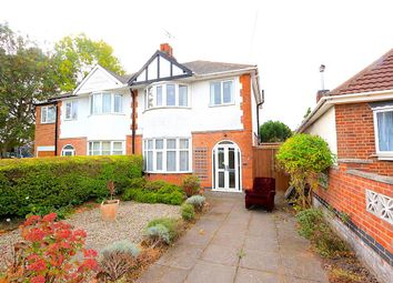 Thumbnail 3 bed semi-detached house for sale in Braunstone Lane, Leicester