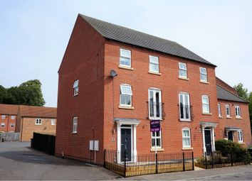 Thumbnail 4 bed semi-detached house for sale in Pentland Drive, Sleaford