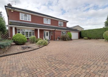 Thumbnail 4 bed detached house for sale in Orams Lane, Brewood, Stafford