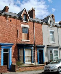 Thumbnail 4 bed terraced house for sale in Mitchell Street, Hartlepool, Cleveland