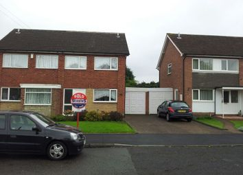 Thumbnail 3 bed semi-detached house to rent in The Glade, Solihull