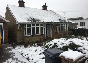 Thumbnail 3 bed bungalow to rent in Gallywood Road, Chelmsford