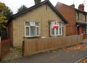 Thumbnail 3 bed detached bungalow for sale in Alexandra Road, Peterborough