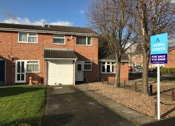 Thumbnail 2 bed terraced house for sale in Derrington Leys, Alvaston, Derby