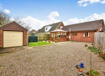 Thumbnail 3 bed detached bungalow for sale in School Lane, Little Melton, Norwich