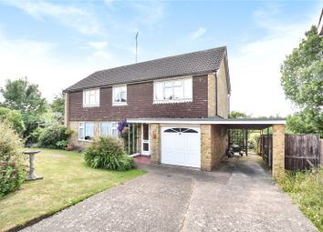 Thumbnail 4 bed detached house for sale in Beacon Close, Uxbridge, Middlesex