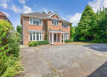 Thumbnail 4 bed detached house for sale in School Road, Saltwood, Hythe, Kent