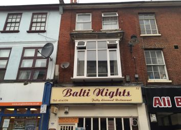 Thumbnail 2 bedroom flat to rent in Wellington Street, Luton, Beds