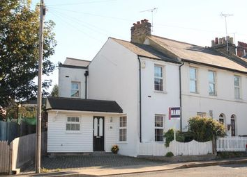 Thumbnail 2 bedroom end terrace house for sale in Waterloo Street, Gravesend, Kent
