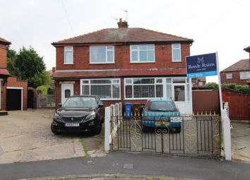 Thumbnail 2 bed semi-detached house for sale in Glaswen Grove, South Reddish, Stockport, Cheshire