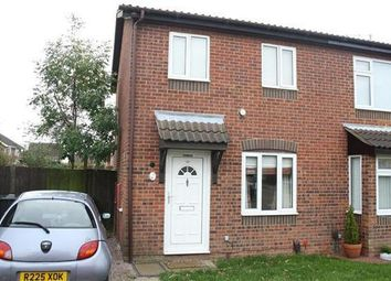 Thumbnail 2 bed semi-detached house to rent in Ullswater Close, Wellingborough