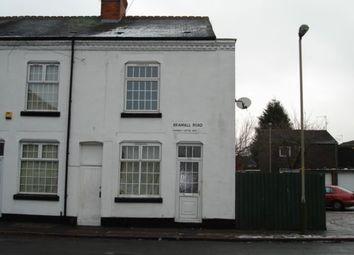 Thumbnail 2 bed terraced house to rent in Bramall Road, Leicester
