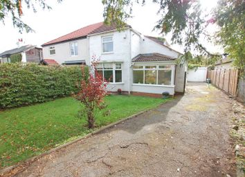 Thumbnail 2 bed semi-detached house for sale in Darras Road, Ponteland, Newcastle Upon Tyne