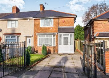 Thumbnail 3 bed end terrace house for sale in Sidcup Road, Kingstanding