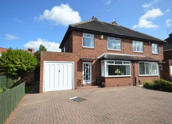 Thumbnail 3 bed semi-detached house for sale in Tudor Wynd, North Heaton, Newcastle Upon Tyne