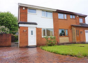 Thumbnail 3 bed semi-detached house for sale in Suffolk Close, Little Lever, Bolton