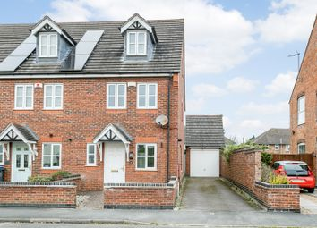 Thumbnail 3 bed end terrace house for sale in Mill Lane, Leicester