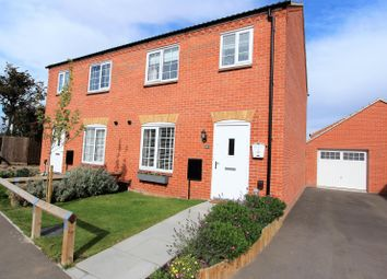 Thumbnail 3 bed semi-detached house for sale in Fulmar Drive, Louth
