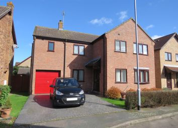 Thumbnail 4 bed detached house for sale in Field Close, Warboys, Huntingdon