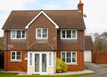 Thumbnail 4 bed detached house for sale in Adderley Bank, Wrexham