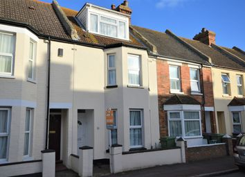 Thumbnail 4 bed terraced house for sale in Thanet Gardens, Folkestone, Kent