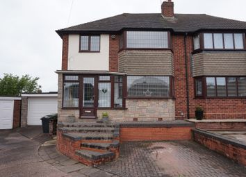 Thumbnail 4 bed semi-detached house for sale in Sutherland Close, Great Barr, Birmingham