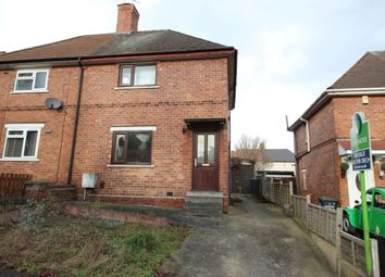 Thumbnail 2 bed semi-detached house for sale in Ashdale Road, Ilkeston