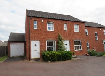 Thumbnail 2 bed semi-detached house for sale in Bains Drive, Lichfield