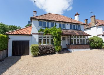Thumbnail 5 bed detached house for sale in Queensmead Avenue, Ewell