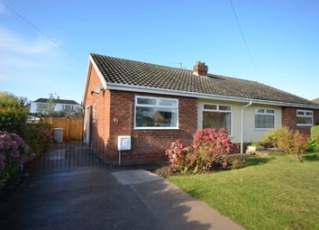 Thumbnail 2 bed semi-detached bungalow to rent in Louth Road, Holton-Le-Clay, Grimsby