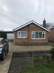Thumbnail 4 bed detached bungalow to rent in Horncastle Road, Wragby, Market Rasen, Lincolnshire.