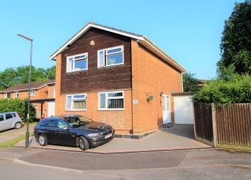 Thumbnail 4 bed detached house for sale in Kelso Close, Worth, Crawley, West Sussex.