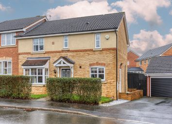 Thumbnail 3 bed semi-detached house for sale in Wheatcroft Close, Brockhill, Redditch