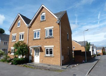 Thumbnail 3 bed town house to rent in Heol Iscoed, Swansea