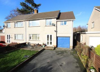 Thumbnail 4 bedroom semi-detached house for sale in Lon Y Coed, Brecon