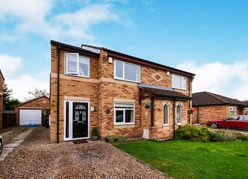 Thumbnail 4 bed semi-detached house for sale in Redmires Close, York
