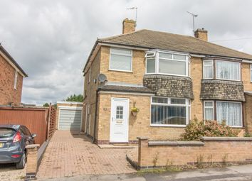 Thumbnail 3 bedroom semi-detached house for sale in Spa Lane, Wigston